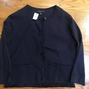 Navy Ann Taylor sweater